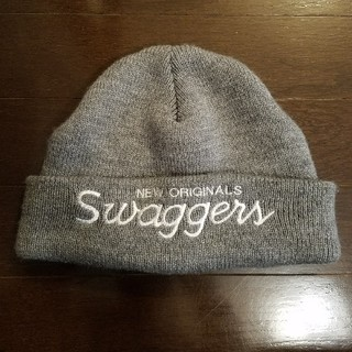 スワッガー(SWAGGER)の日本製 Swagger ウール混 ニット帽 ビーニー(ニット帽/ビーニー)