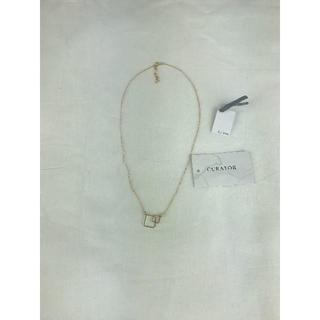 キュレーター(CURATOR)のレディース ネックレス 14kt curator 新品 超お買い得(ネックレス)
