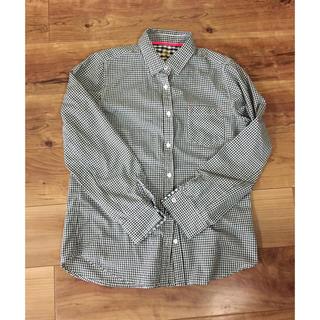 シマムラ(しまむら)のギンガムチェックシャツ(シャツ/ブラウス(長袖/七分))
