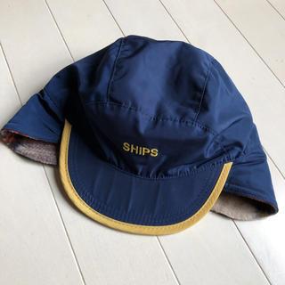シップスキッズ(SHIPS KIDS)のSHIPS キッズ フリース キャップ 55㎝(帽子)