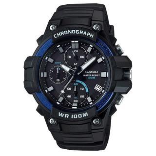 カシオ(CASIO)の新品★CASIO クロノグラフ MCW-110H-2AV ブルー(腕時計(アナログ))