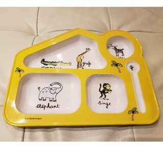 ラシェーズロング(La Chaise Longue)の子供用 食器 La Chaise Longue(プレート/茶碗)