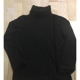 アルティザン(ARTISAN)のARTISAN 黒 タートルネック  130(Tシャツ/カットソー)