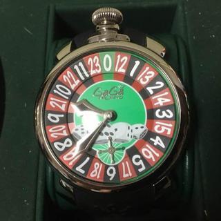ガガミラノ(GaGa MILANO)のGaGa MILANO 5010.ラスベガス マニュアーレ48mm 腕時計(腕時計(アナログ))