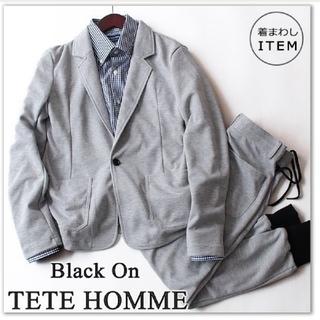 テットオム(TETE HOMME)の新品 Black on テットオム セットアップ スーツ /ジャケット(セットアップ)