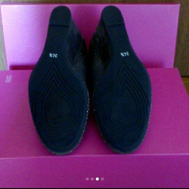 IENA(イエナ)の新品未使用 ウェッジシール イタリア製 レディースの靴/シューズ(ハイヒール/パンプス)の商品写真
