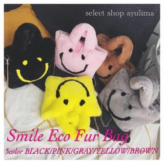 チェスティ(Chesty)の即納☆Smile Eco Fur Bag☆PINK(その他)