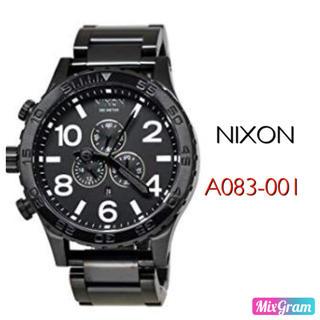 ニクソン(NIXON)のニクソン A083-001 ブラック メンズ腕時計 新品未使用(腕時計(アナログ))