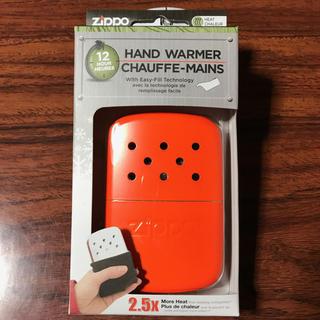ジッポー(ZIPPO)の新品 ジッポー Zippo ハンディーウォーマー オイル充填式カイロ  オレンジ(その他)