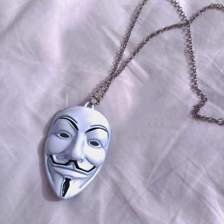 バブルス(Bubbles)の♥️ Vintage Silver mask necklace(ネックレス)
