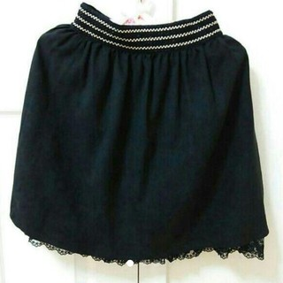 ジョイアス(Joias)のジョイアス☆裾レース スカート Joias(ミニスカート)