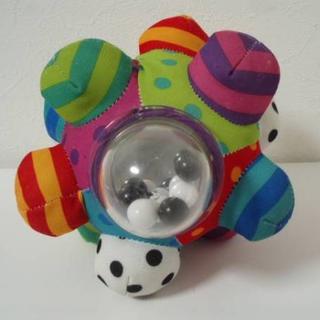 サッシー(Sassy)の美品 Sassy サッシー ビッグ バンピー ボール(がらがら/ラトル)
