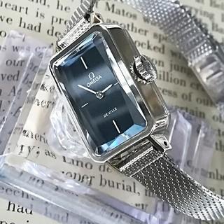 オメガ(OMEGA)の⭐OH済 綺麗 オメガ 全純正 メッシュベルト付 時計 レディース デビル 美品(腕時計)