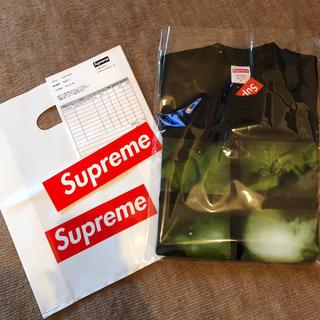 シュプリーム(Supreme)のSUPREME week12 シュプリーム Tシャツ 黒 S ステッカー 2枚(Tシャツ/カットソー(半袖/袖なし))