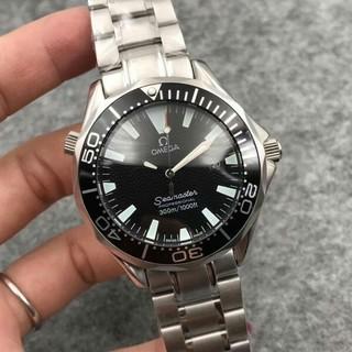 オメガ(OMEGA)のオメガ シーマスター300 黒(腕時計(アナログ))