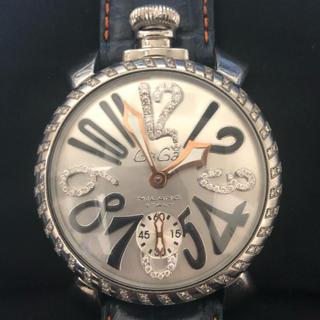 ガガミラノ(GaGa MILANO)のガガミラノ ダイヤ カスタム(腕時計(アナログ))