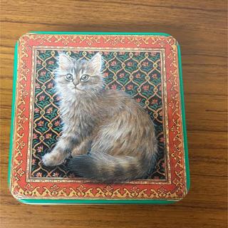 IVORY CATS  ネコ 缶 アンティーク 猫(その他)
