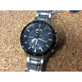 カシオ(CASIO)の未使用 EQW-A1400DB-1AJF カシオ エディフィス ソーラー電波時計(腕時計(アナログ))