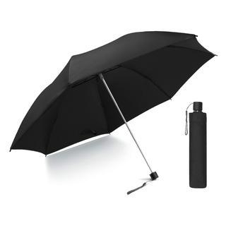 超軽量♪シンプル 折りたたみ傘  230g ブラック 黒 M1119(傘)