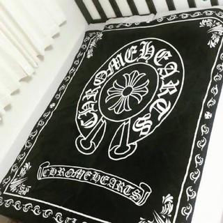 クロムハーツ(Chrome Hearts)のクロムハーツ  ブランケット 大判  毛布(毛布)