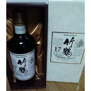 ニッカウイスキー(ニッカウヰスキー)の竹鶴17年 箱付き 未開封(ウイスキー)