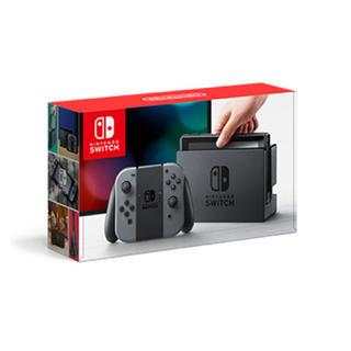 ニンテンドースイッチ(Nintendo Switch)の【新品未使用】ニンテンドースイッチ本体 グレー(家庭用ゲーム機本体)