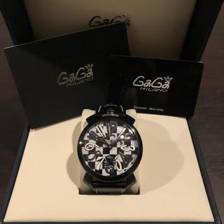 ガガミラノ(GaGa MILANO)のGaGaMILANO 5012.LE.CH.1(SWISS MADE)限定モデル(腕時計(アナログ))