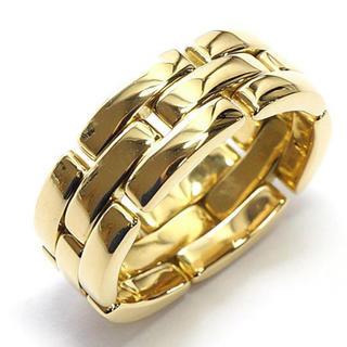 カルティエ(Cartier)の正規品 カルティエ マイヨンパンテール リング K18YG(リング(指輪))