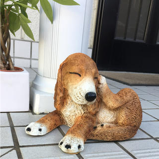 フランフラン(Francfranc)の【新品未使用】犬の置物(犬)