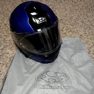 オージーケー(OGK)の【値下げ】OGK KABUTOヘルメット KAZAMI Lサイズ インカム付き(ヘルメット/シールド)