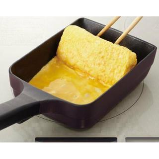 ティファール(T-fal)の【新品】ティファール 卵焼き フライパン 14×18cm IH対応(調理道具/製菓道具)