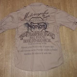 ノートン(Norton)のノートン モーターサイクルズ シャツ(Tシャツ/カットソー(半袖/袖なし))