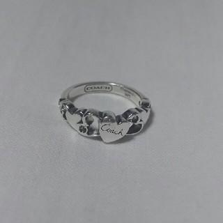 コーチ(COACH)のCOACH コーチ シルバー925 ハートリング(リング(指輪))