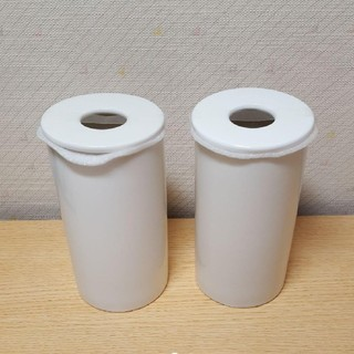 MUJI (無印良品) - 未使用 無印良品 インテリアフレグランス用 磁器ホルダー 2個セット
