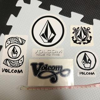 ボルコム(volcom)のVolcomステッカー5枚セット★(その他)