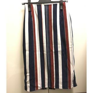 ケービーエフプラス(KBF+)のKBF ◆マルチストライプSK(ひざ丈スカート)