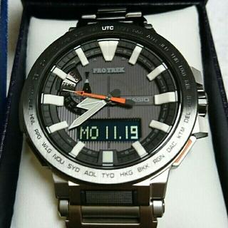 カシオ(CASIO)の⭐定価の半額以下❗❗❗プロトレック マナスル PRX-8000T-7AJF(腕時計(アナログ))