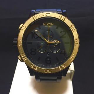 ニクソン(NIXON)のNIXON 51-30 CHRONO BLACK GOLD(腕時計(アナログ))