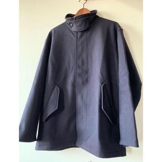 コモリ(COMOLI)のcomoli フェルトンジップコート サイズ2(ライダースジャケット)