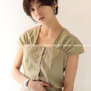 TODAYFUL - TODAYFUL【未使用に近い】Shoulder Paff Blouse