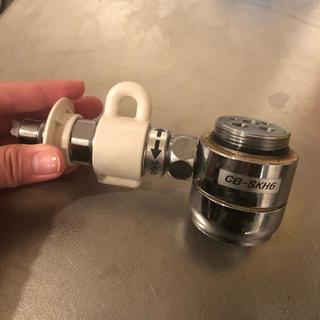 パナソニック分岐水栓 CB-SXH6 中古(食器洗い機/乾燥機)