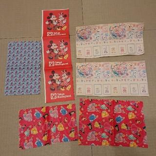 ディズニー(Disney)のディズニー レザー生地 はぎれ6枚(生地/糸)