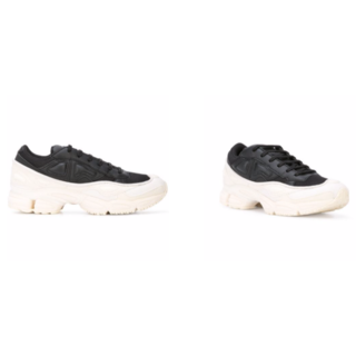 adidas - アディダスバイラフシモンズ オズウィーゴ 26センチ 新品 白黒
