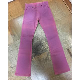 スカルジーンズ(SKULL JEANS)のスカルジーンズ 5508XX サイズ26 紫 色変色ジャンク(その他)