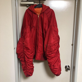 Balenciaga - vetements ma-1 ボンバージャケット