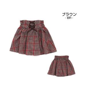 セラフ(Seraph)のセラフ グレンチェック スカート 140 美品(スカート)