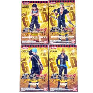 バンダイ(BANDAI)の新品★超ワンピーススタイリング FILM GOLD 4体(アニメ/ゲーム)