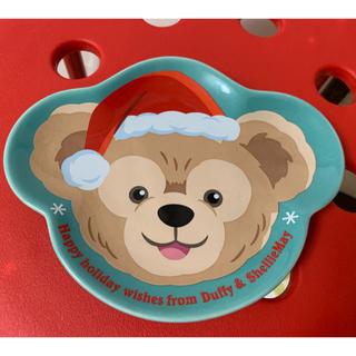 ダッフィー(ダッフィー)のダッフィー シェリーメイ クリスマス スーベニア お皿(キャラクターグッズ)