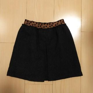 ジーユー(GU)のGU スカート 110 グレー(スカート)