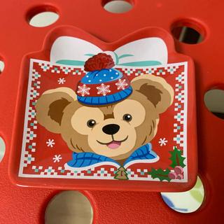 ダッフィー(ダッフィー)のダッフィー シェリーメイ クリスマス プレゼント型 スーベニアお皿(キャラクターグッズ)
